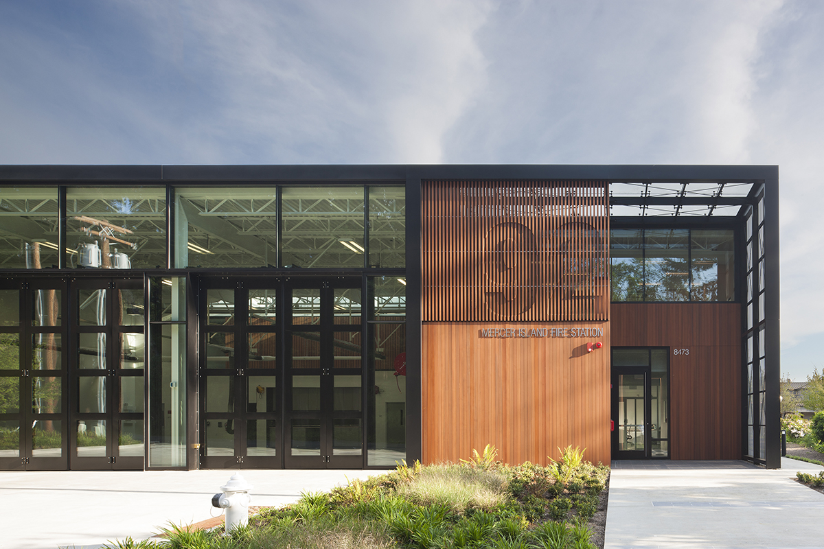 Mercer Island Fire Station 92 Architect Magazine