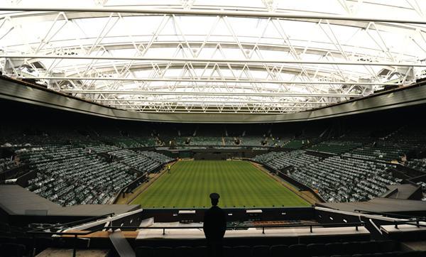 Wimbledon Centre Court Retractable Roof Architect Magazine Populous London United Kingdom