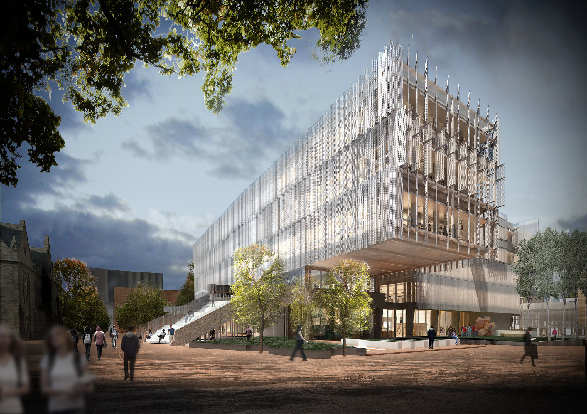 Faculty of architecture building planning university of melbourne architect magazine for Building planning and design