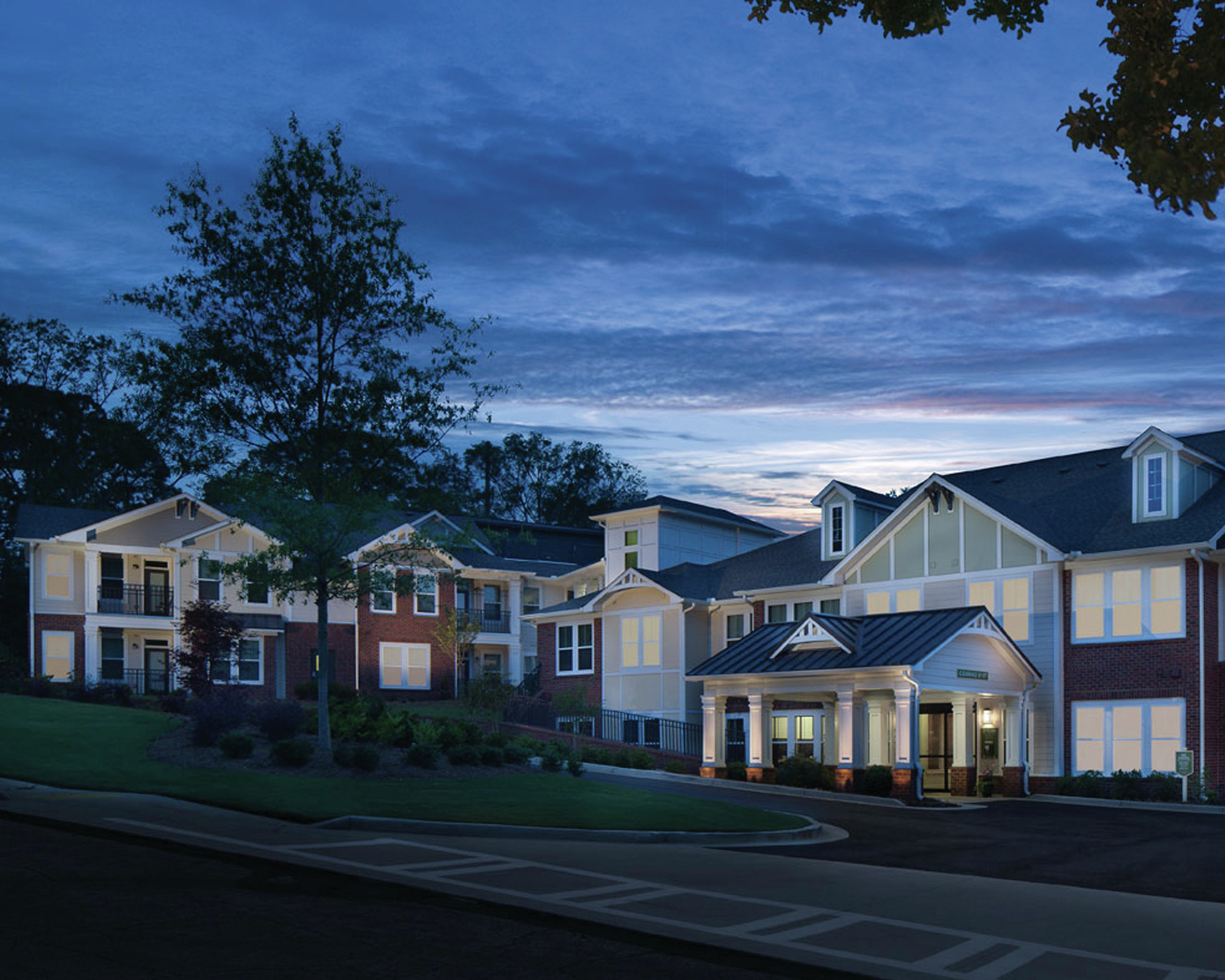 Columbia Senior Residences at Forrest Hills Fashions Intimate Scale ...
