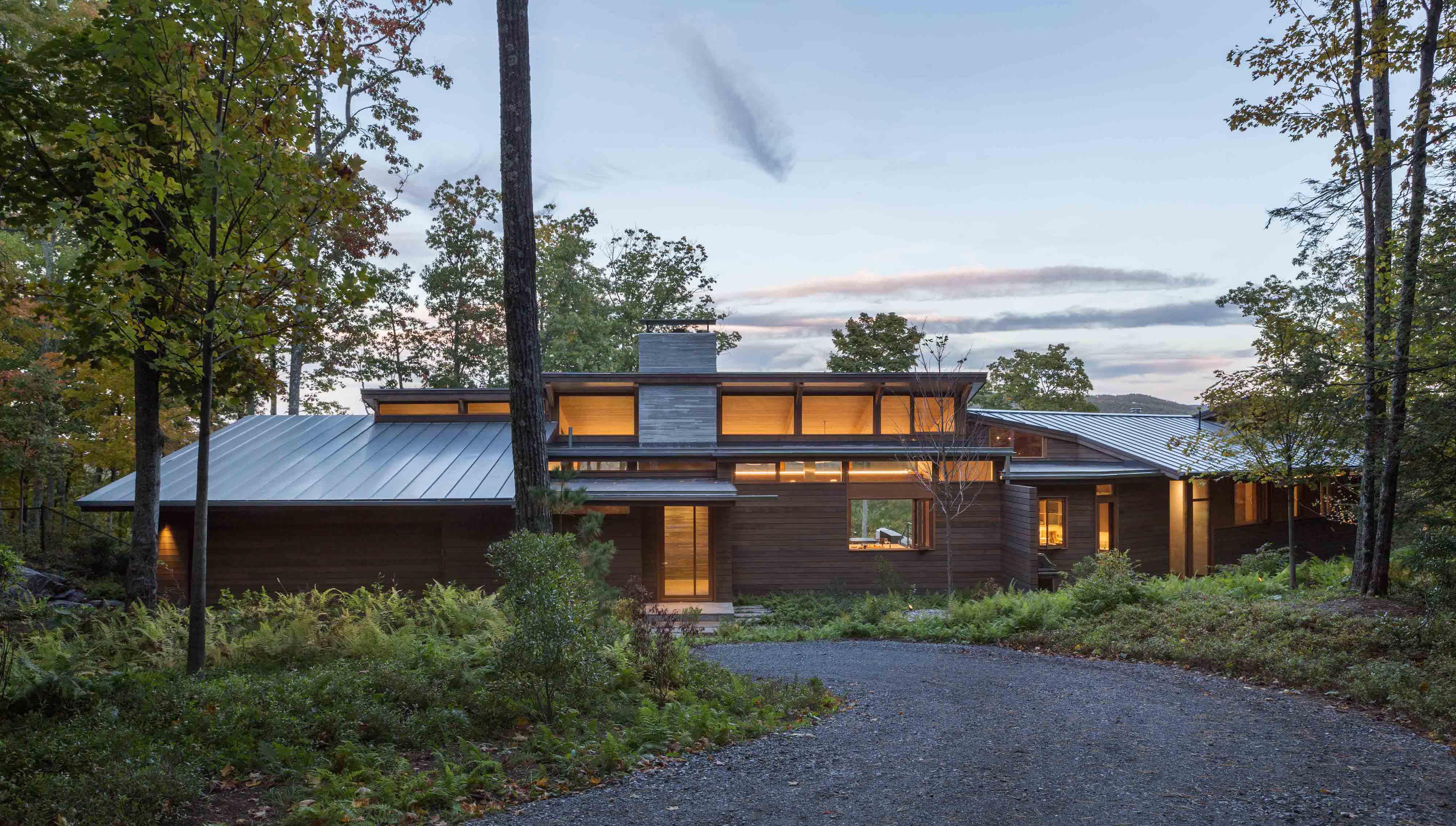 Berkshire residence architect magazine mathison i for Modern view decking