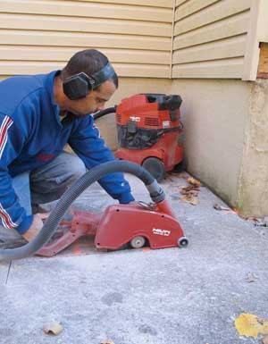 Tools Up Close Hilti Electric Concrete Saw Tools Of The