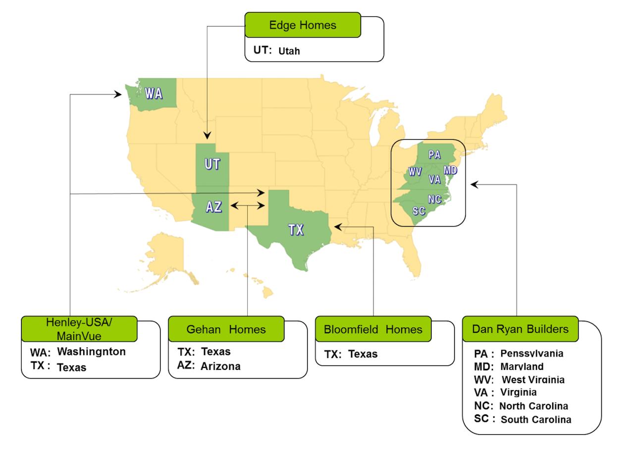 Sumitomo Corners Key Carolinas Lot Pipeline With New Developer Deal Texas Gg Wiring Diagram Builder Magazine Developers Development Lots Land Acquisition Housing Data