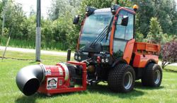 Articulated Compact Tractor Public Works Magazine