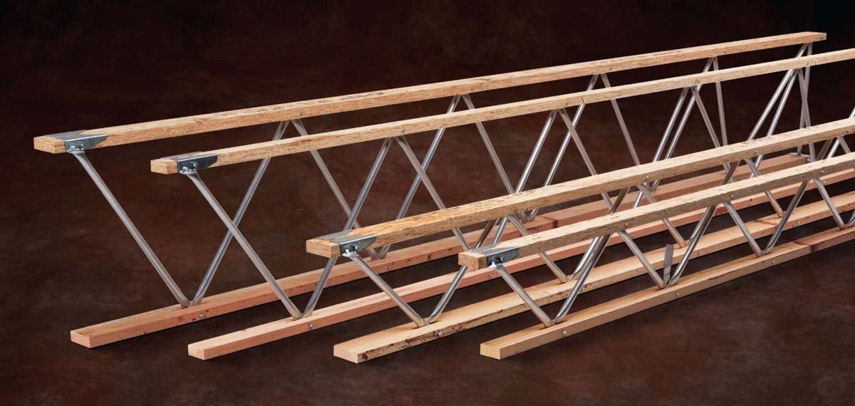 Trus joist open web trusses from ilevel architect for Open web trusses