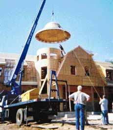 Framing A Round Tower Jlc Online Framing Lumber