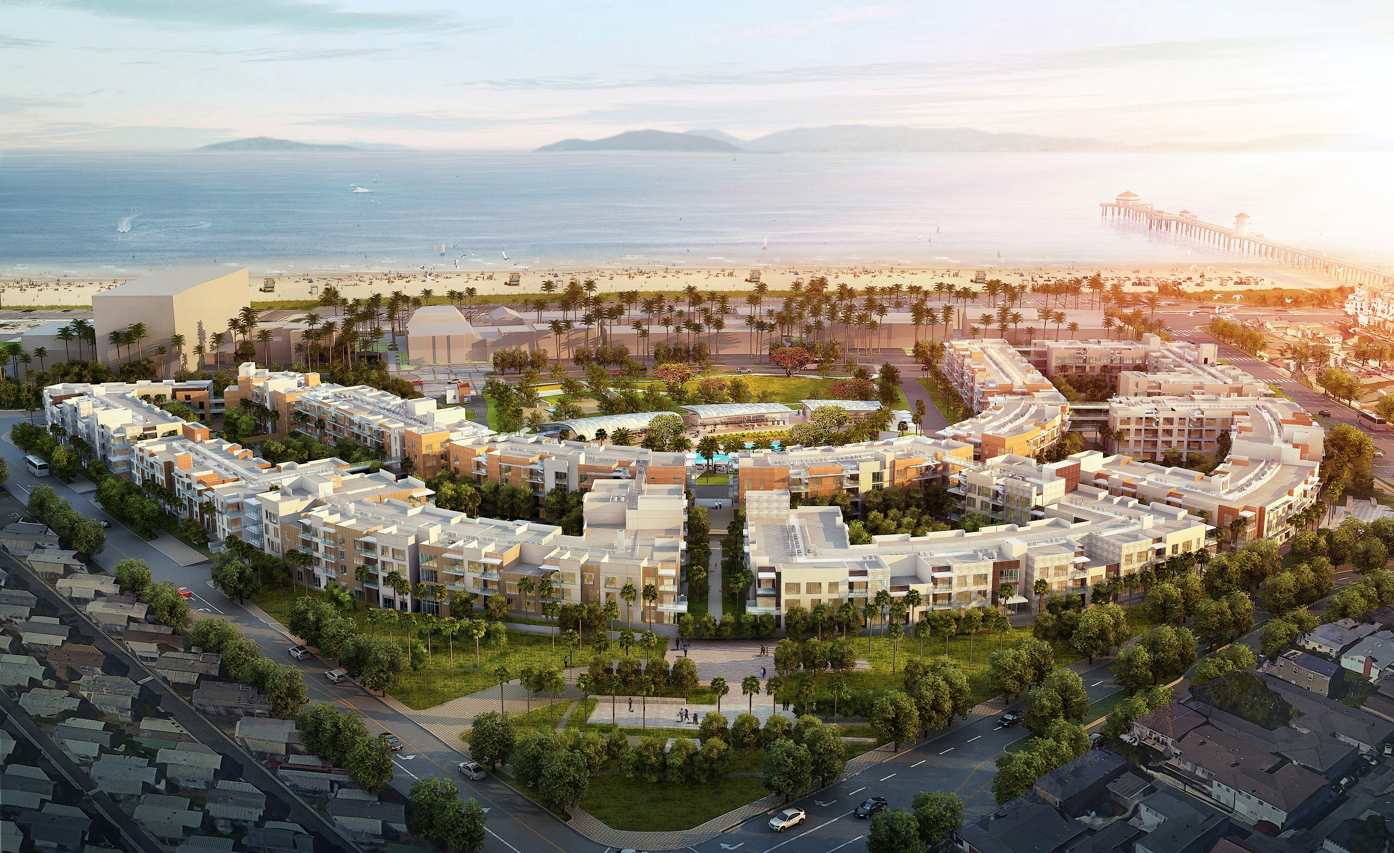 Residences At Pacific City Architect