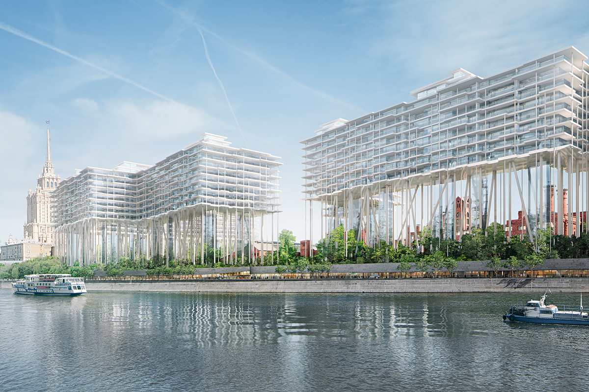 Skolkovo Park for Life: a premium residential complex in the west of Moscow