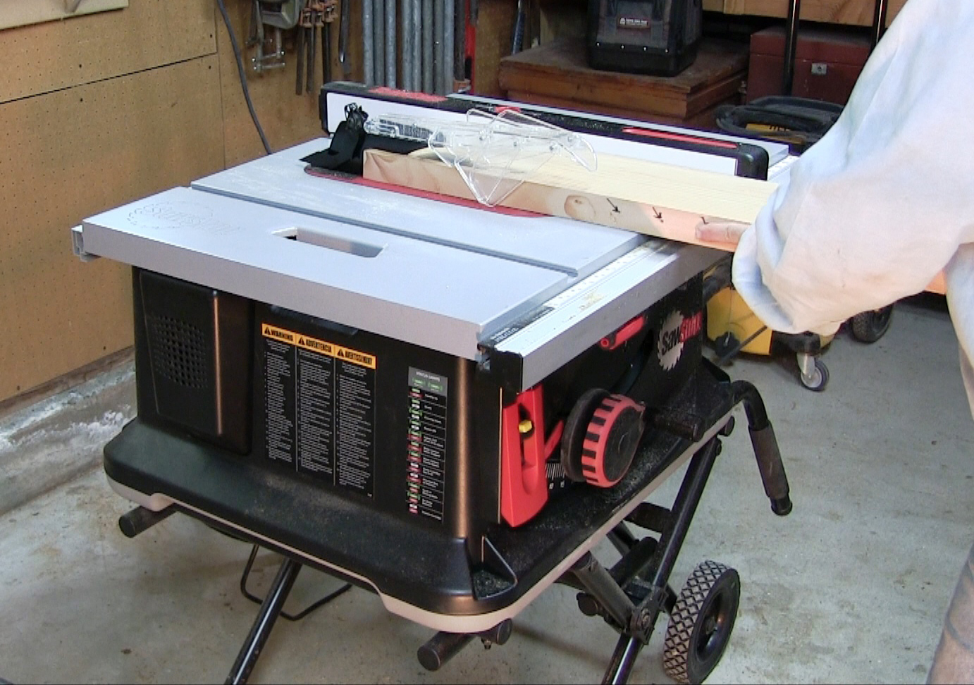 Tested Sawstop Jobsite Table Saw Tools Of The Trade