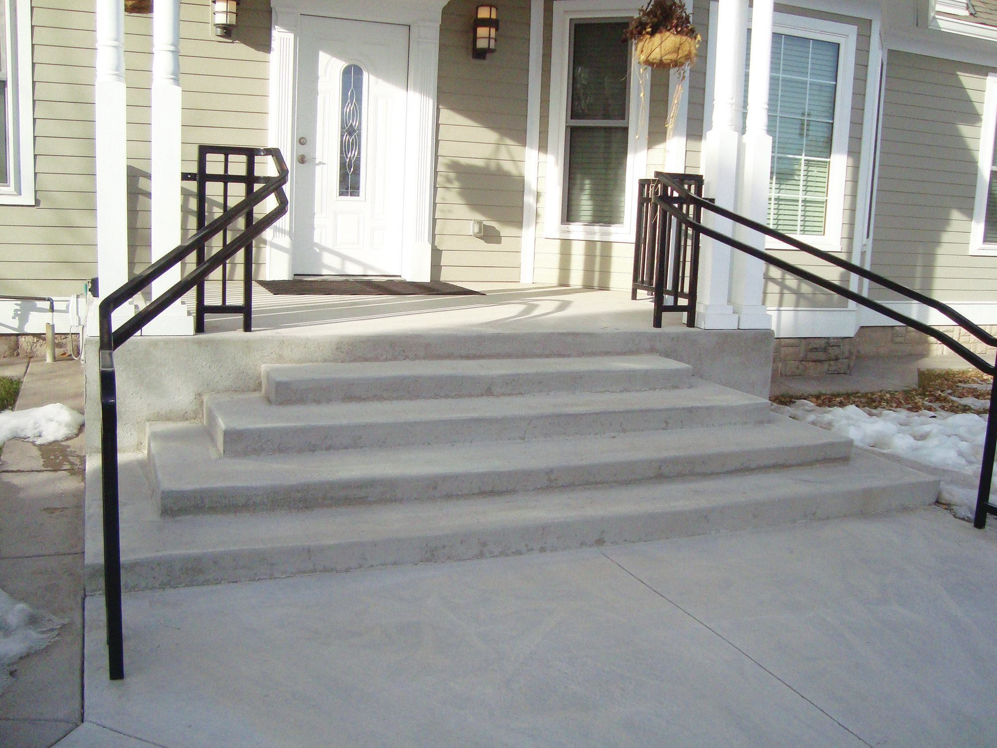 Troubleshooting Stair Treads And Slopes Concrete