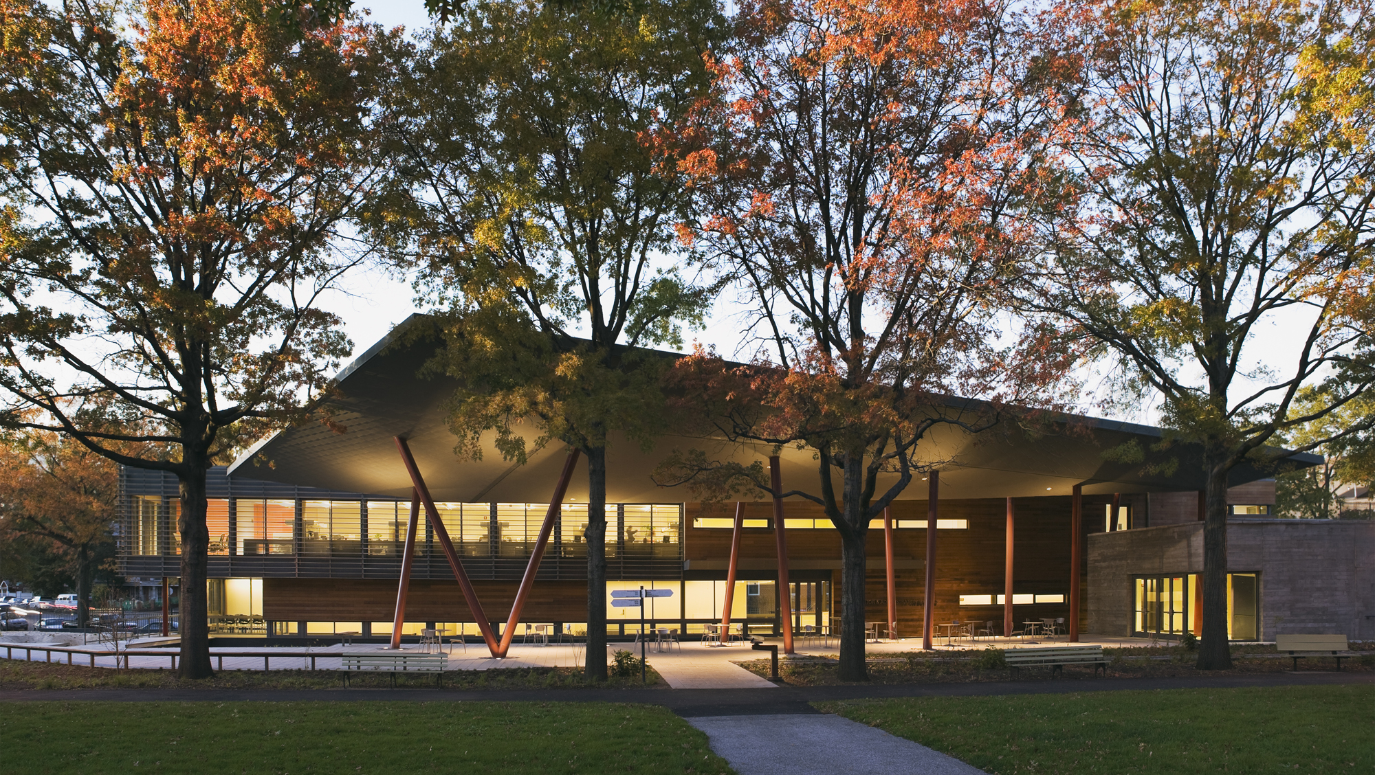 Queens botanical garden visitor administration center - Garden state healthcare associates ...