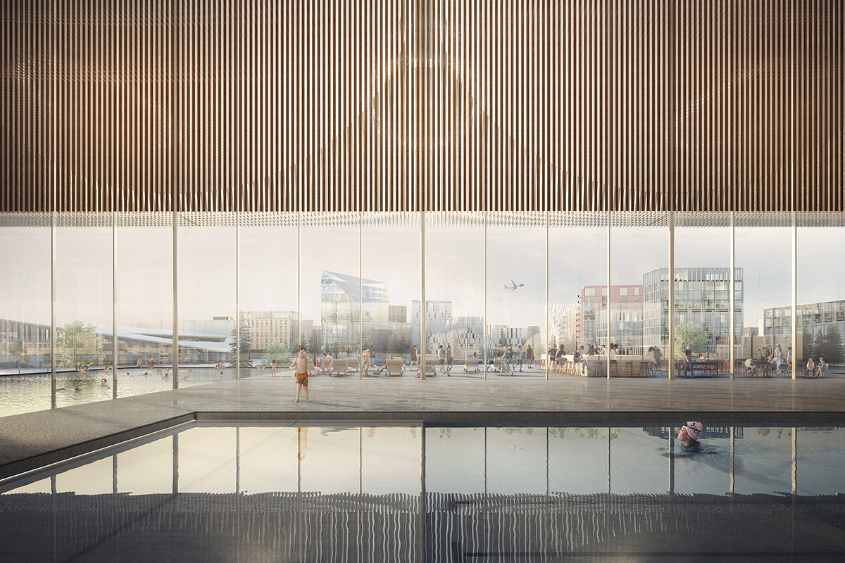 Oslo Airport City Masterplan Architect Magazine