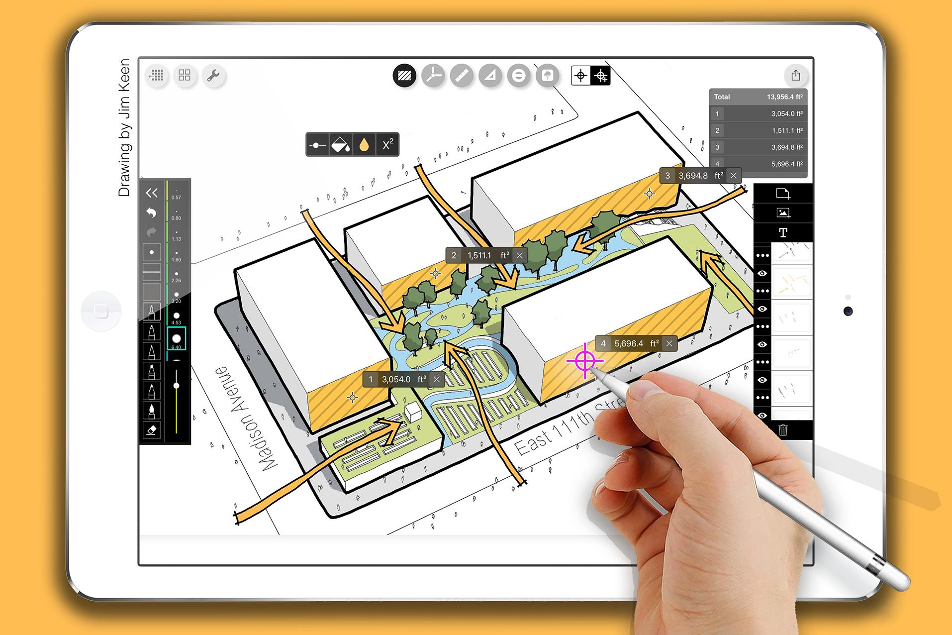 Morpholio Launches Smart Fill Area Calculator For Trace App Architect Magazine