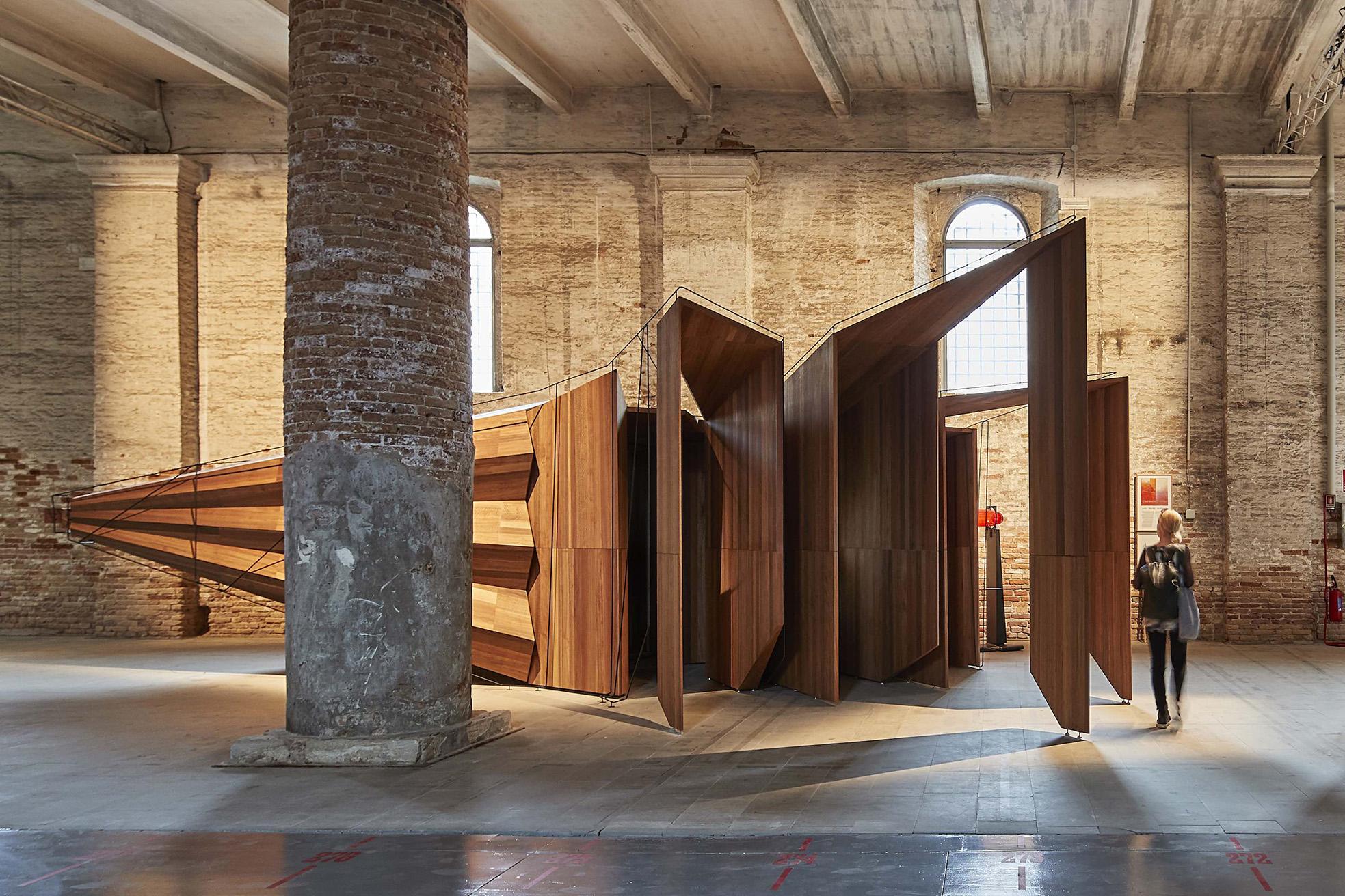 John Wardle Transports Visitors At The Venice Biennale