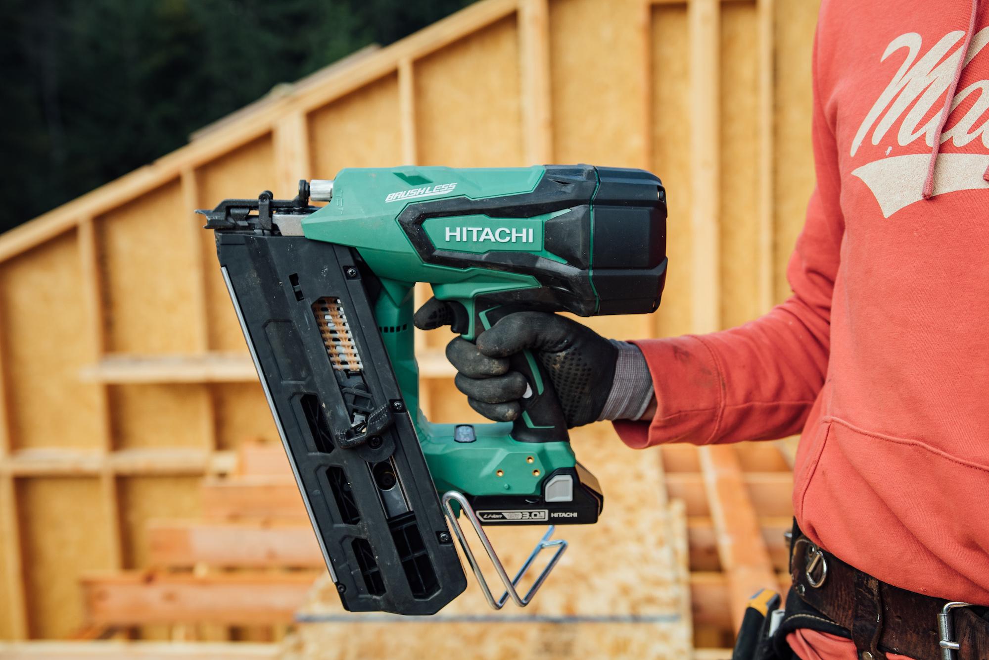 Hitachi Nr1890dr Cordless Nail Gun Tools Of The Trade