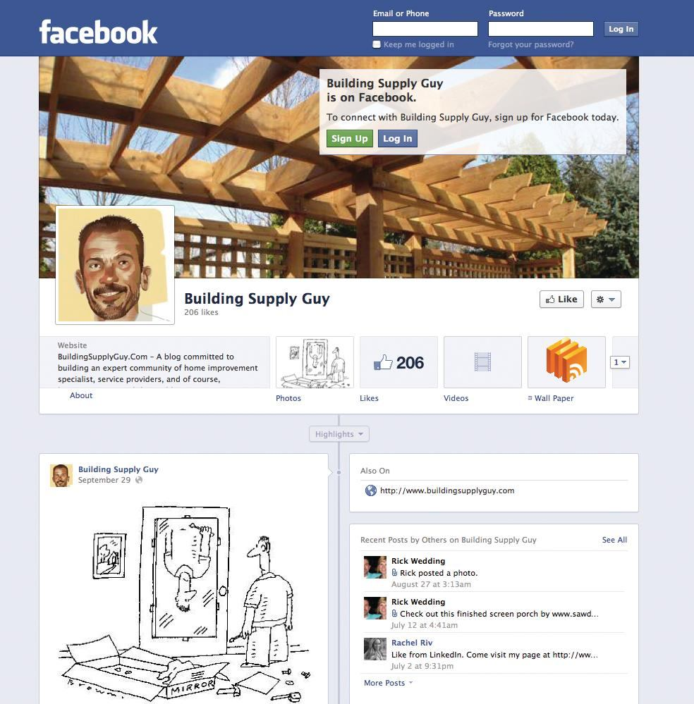 Partnering With Your Lumberyard On Social Media
