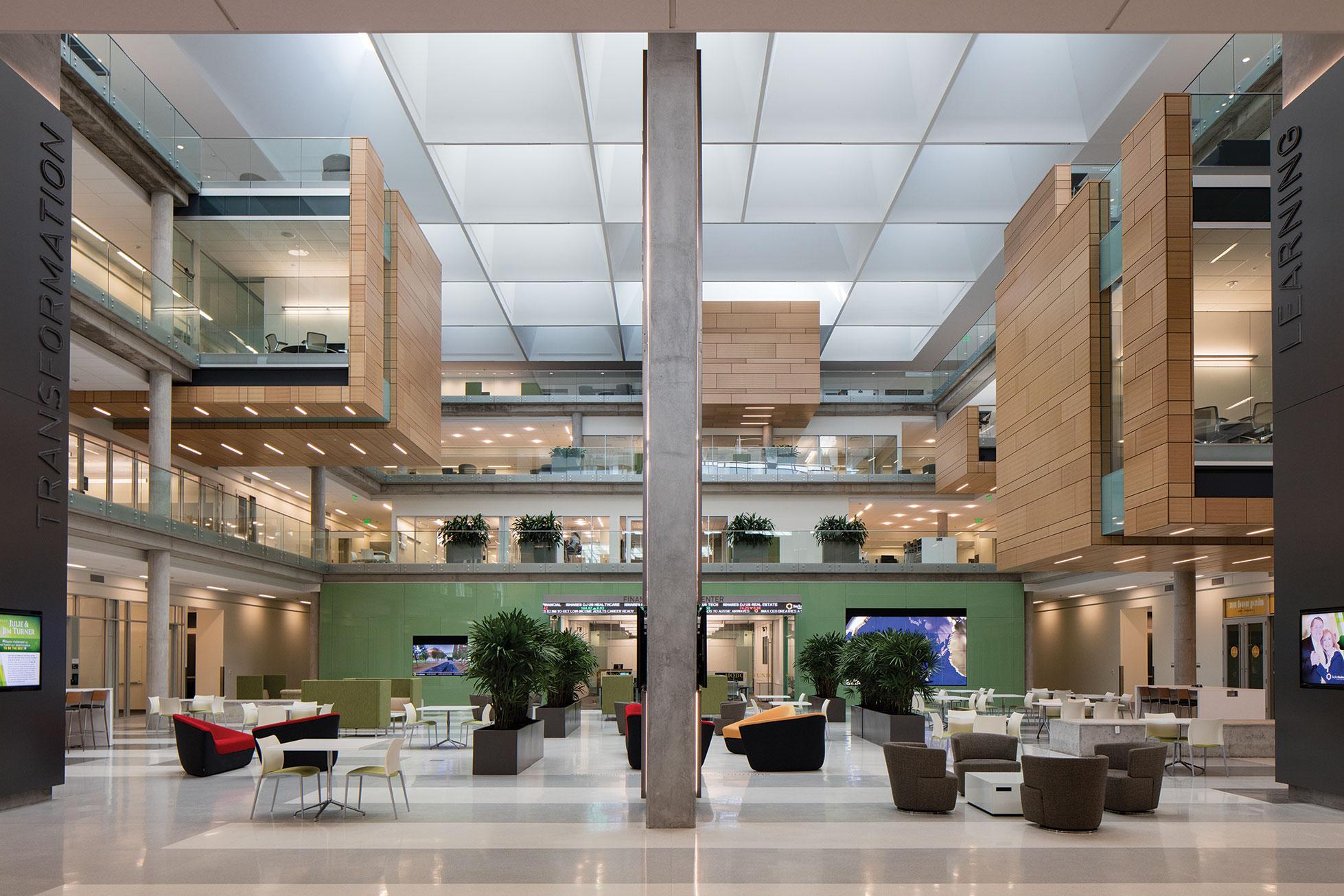 2017 al design awards baylor university paul l foster - Interior design schools in alabama ...