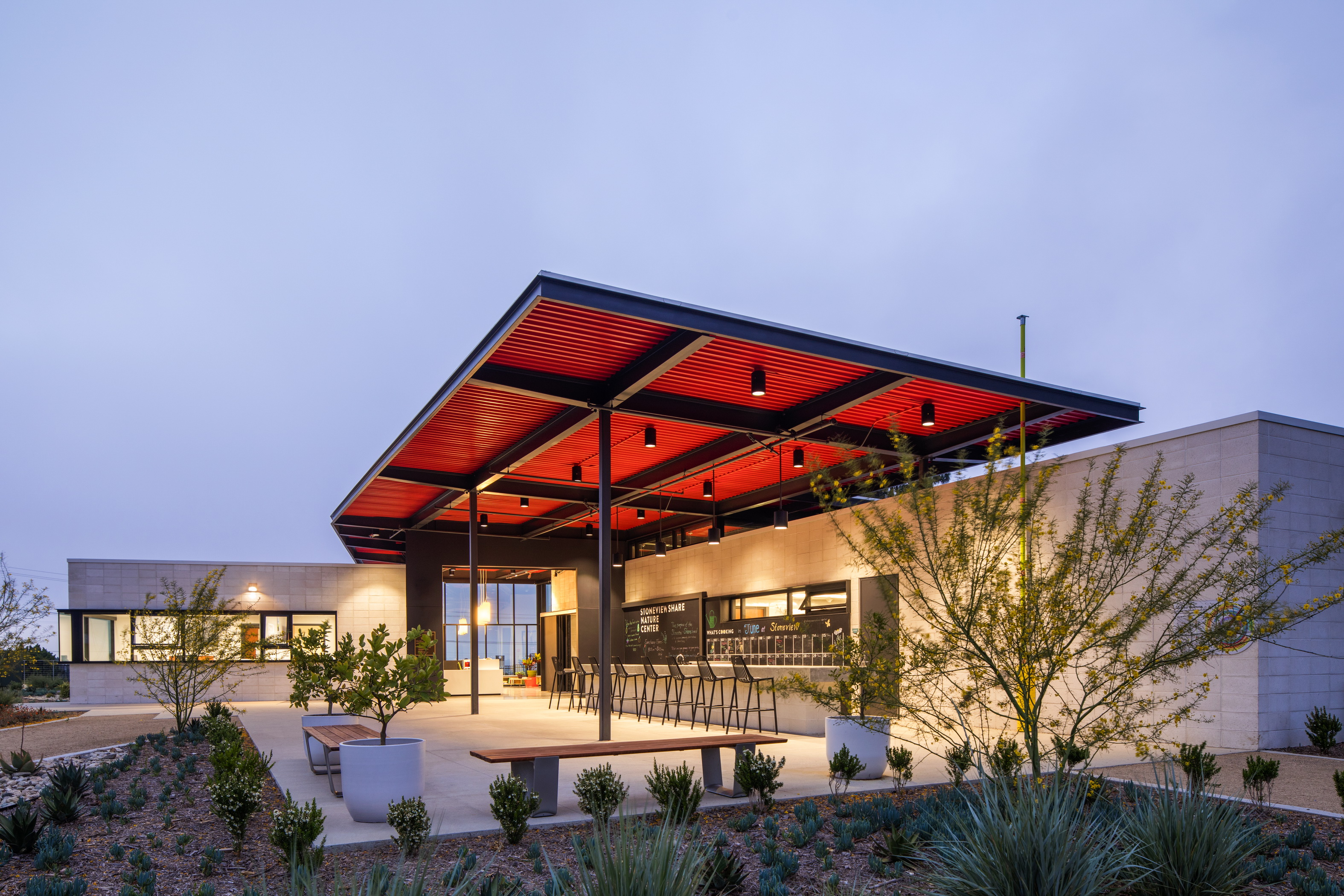 Stoneview Nature Center Architect Magazine Ehrlich Yanai Rhee Chaney Architects Culver City