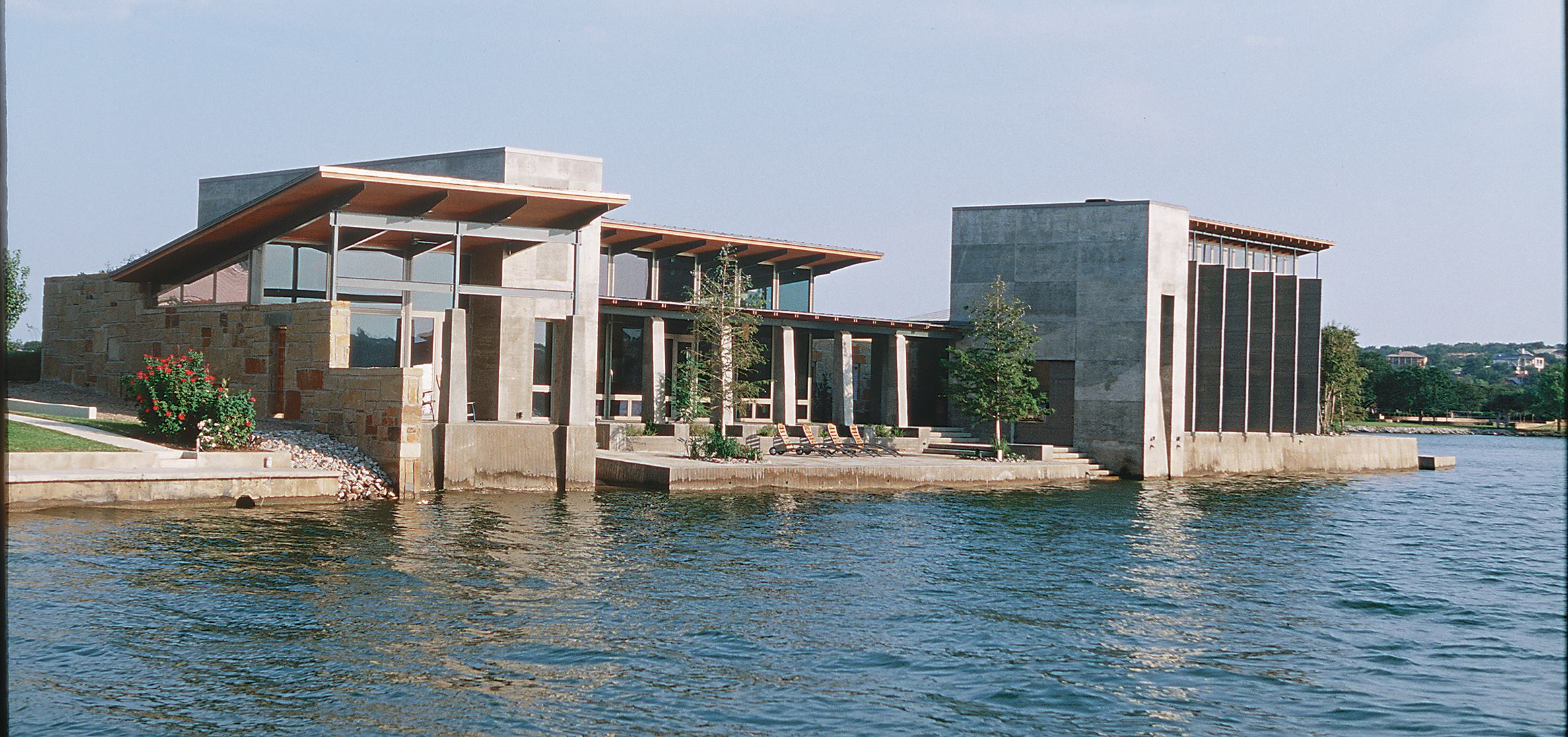 Lakeside residence horseshoe bay texas residential for Custom home architects