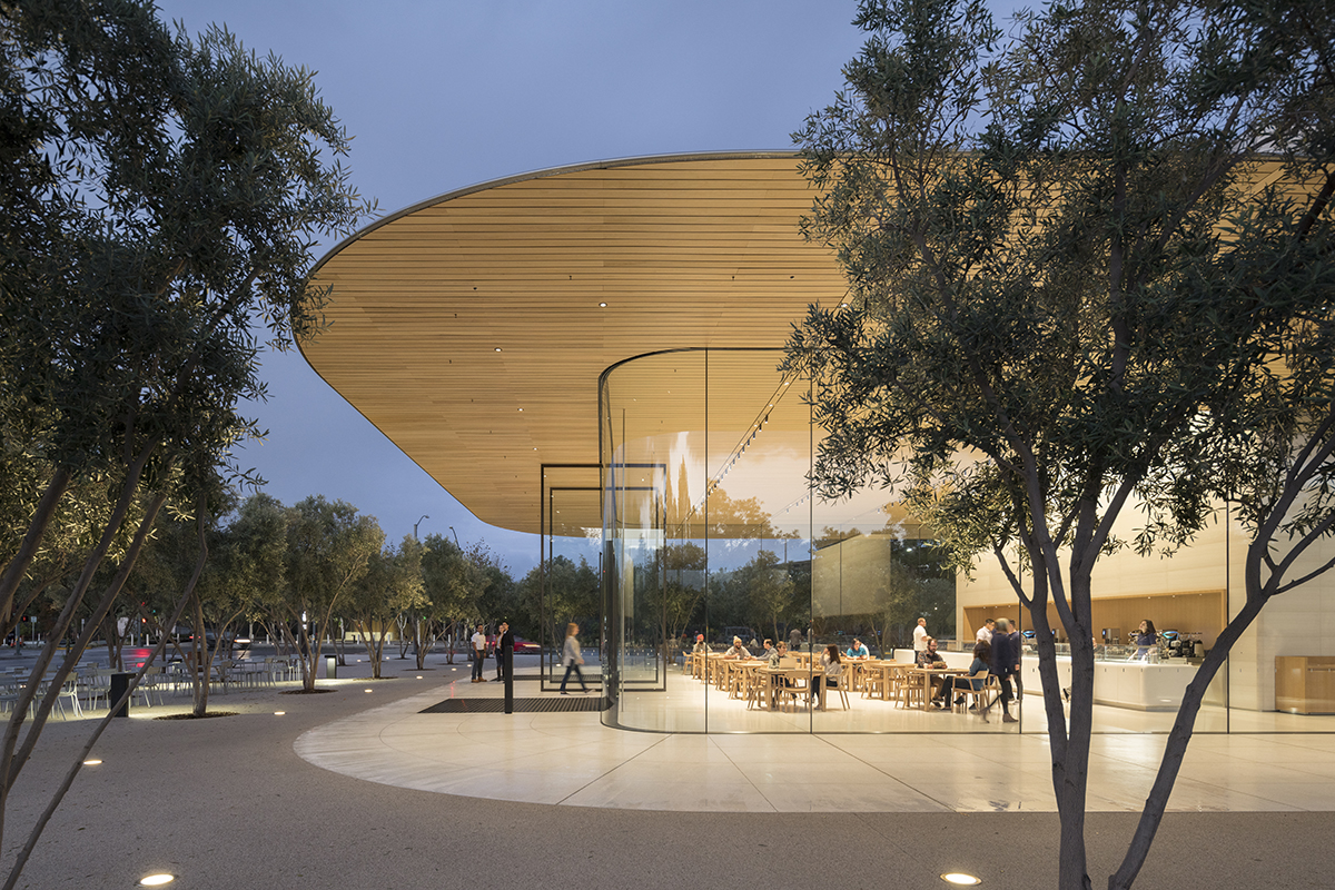 D Exhibition Bangkok : Apple park visitor center architect magazine foster
