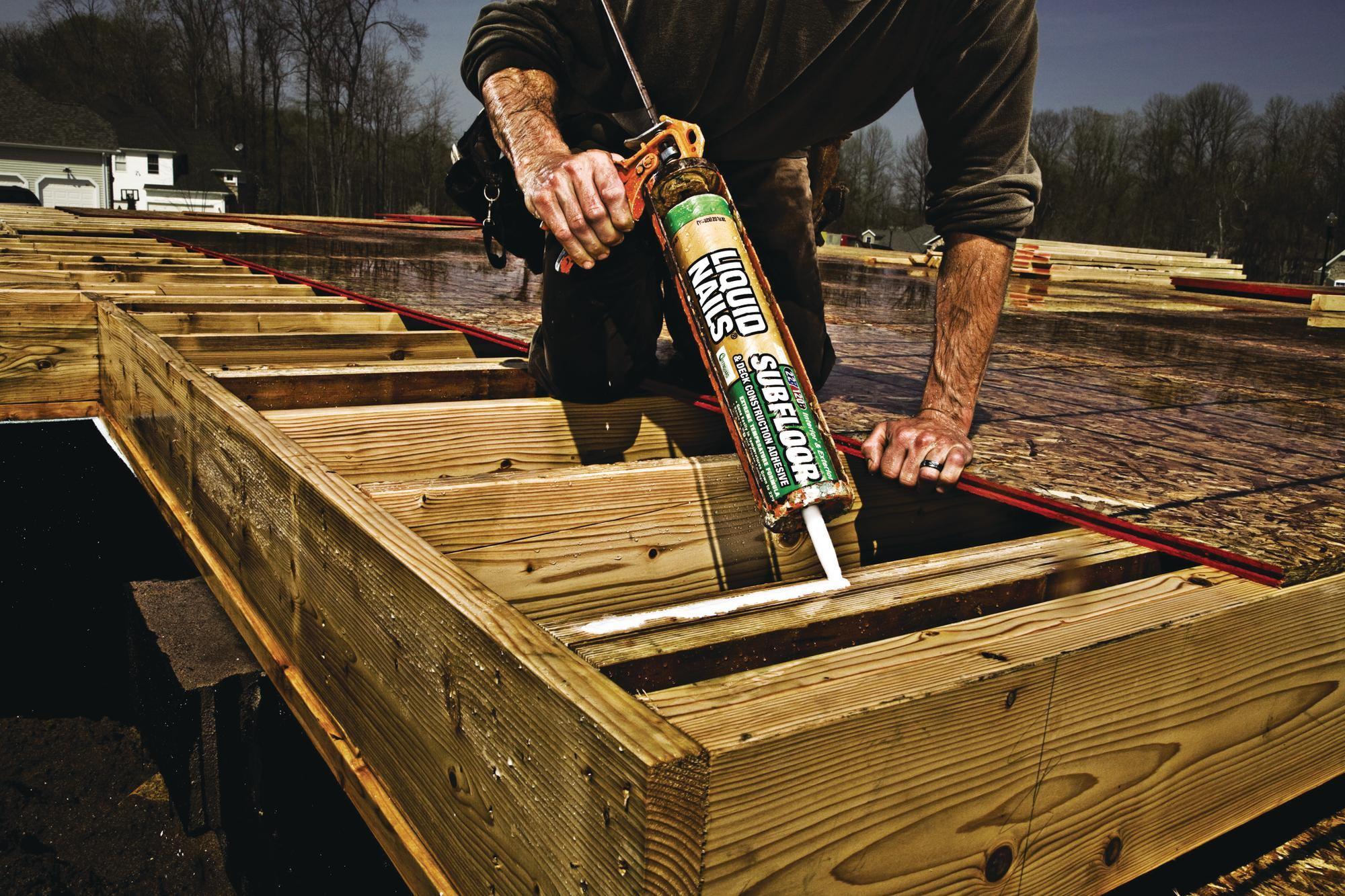 Liquid Nails Adhesive Subfloor And Deck Adhesives