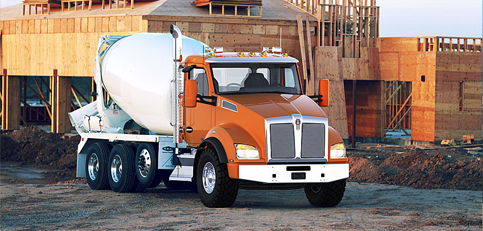 Truck Exhaust Systems >> Natural Gas Truck from Kenworth| Concrete Producer ...