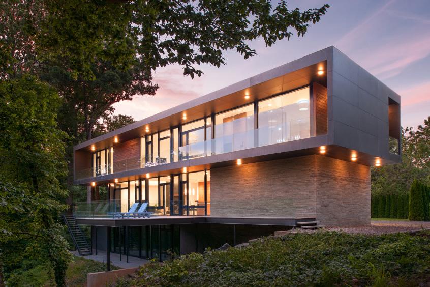 Riggins House Architect Magazine Robert M Gurney