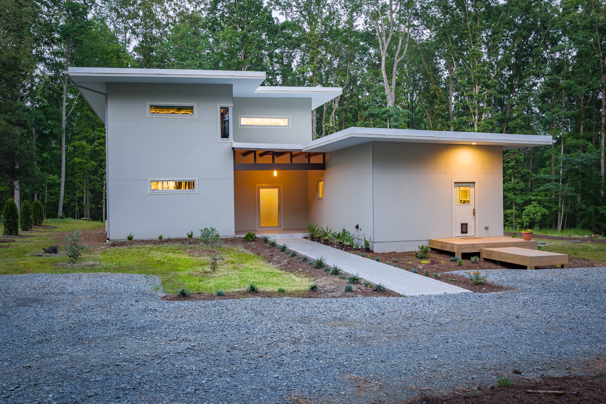 Modern Net Zero Passive Home In Chapel Hill Architect