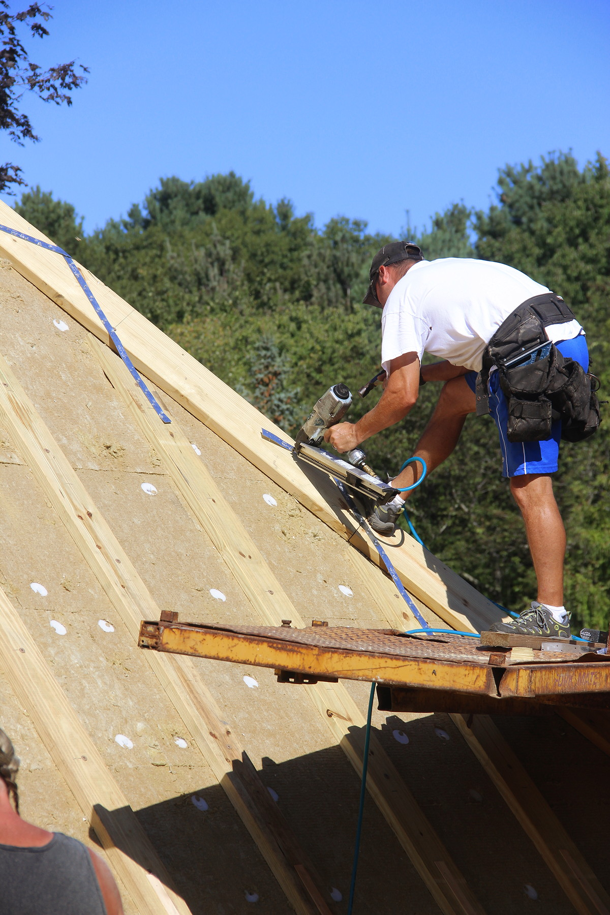 Wayland Passive House The Airtight Insulated Shell Jlc