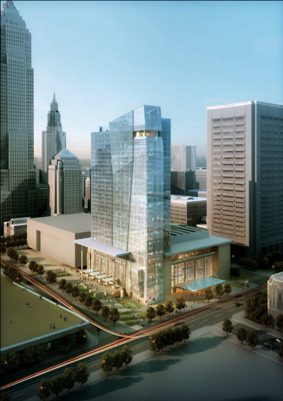 Hilton Cleveland Downtown Architect Magazine Cooper
