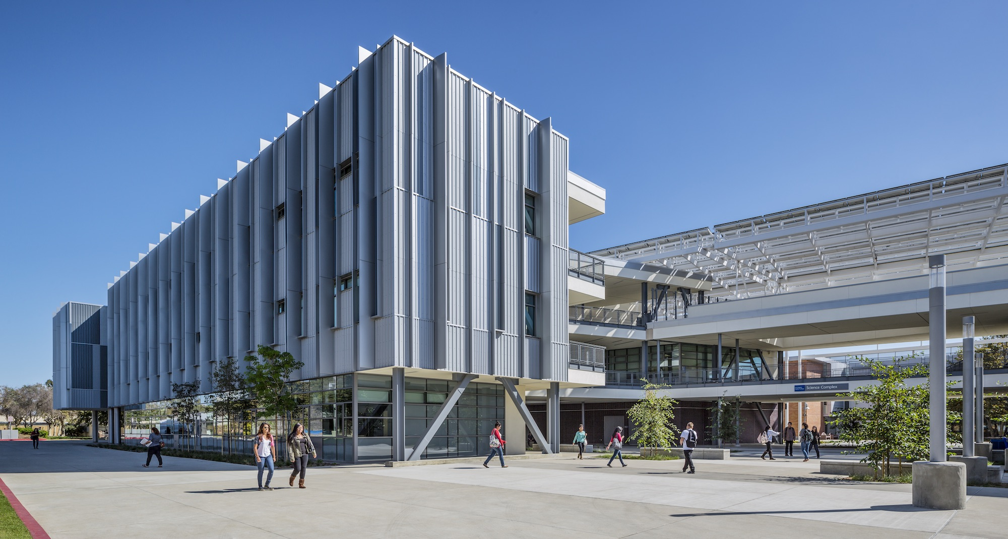 Los Angeles Harbor College Science Complex Architect