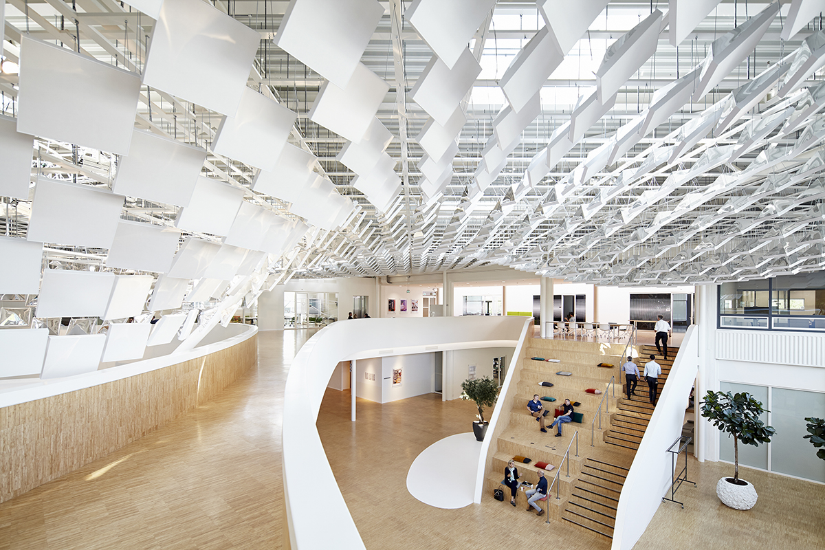 Philips lighting headquarters architect magazine for Design consultancy amsterdam