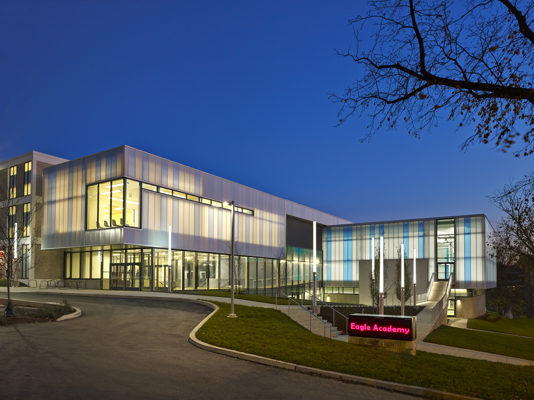 Eagle Academy Public Charter School | Architect Magazine | Shinberg.Levinas  Architects, Washington , DC, USA, Education, Addition/Expansion, ...