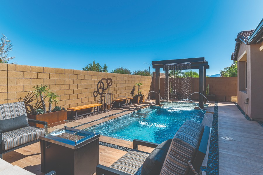 Universal White Cement Debuts Radiant Fusion Pool Amp Spa News