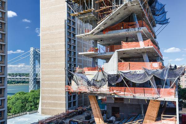 Columbia University Medical And Graduate Education Building New York Concrete