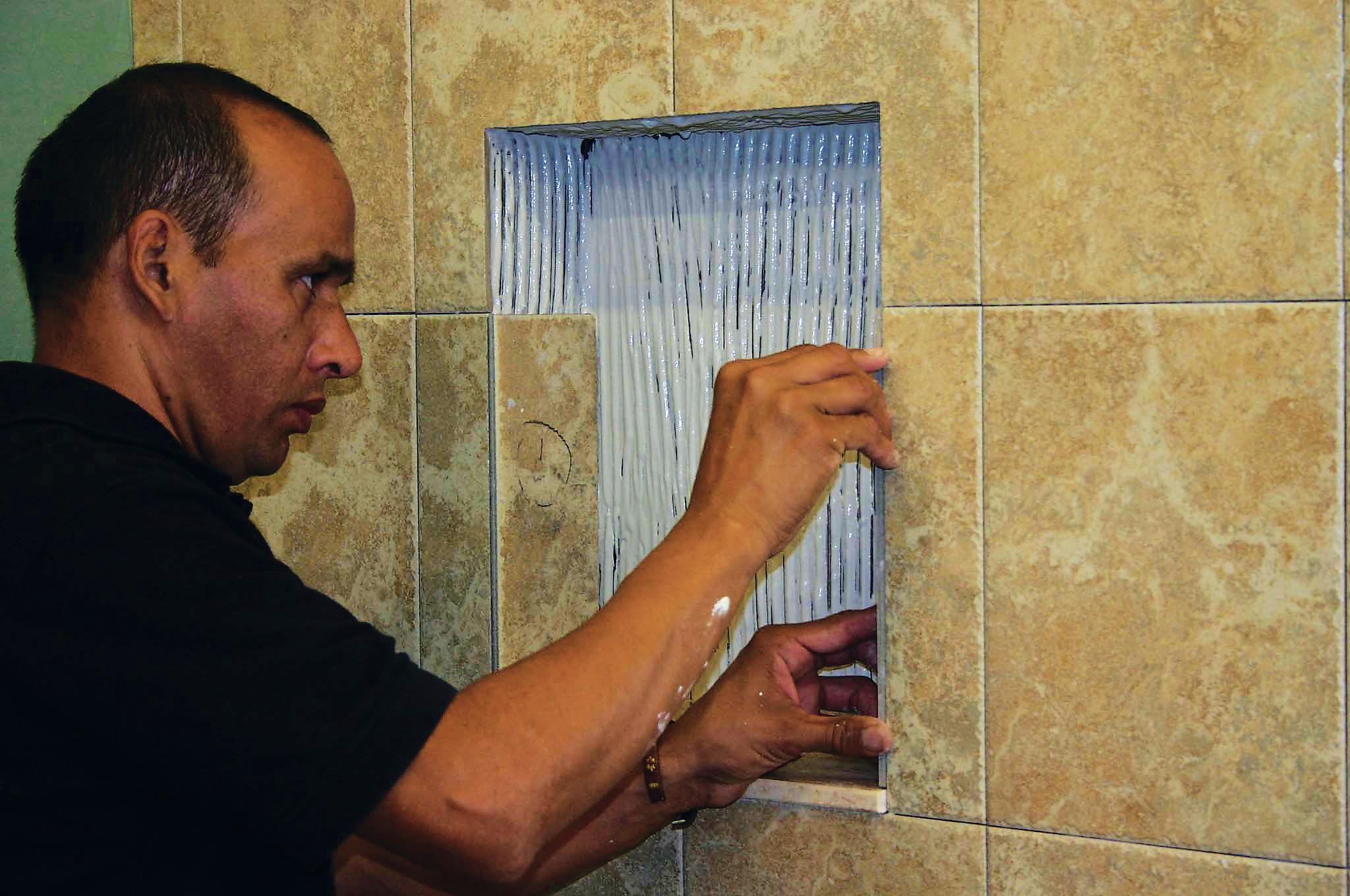 Tile Redi Niche Pre Formed Niches Remodeling Shower Bath Mold Walls Installation