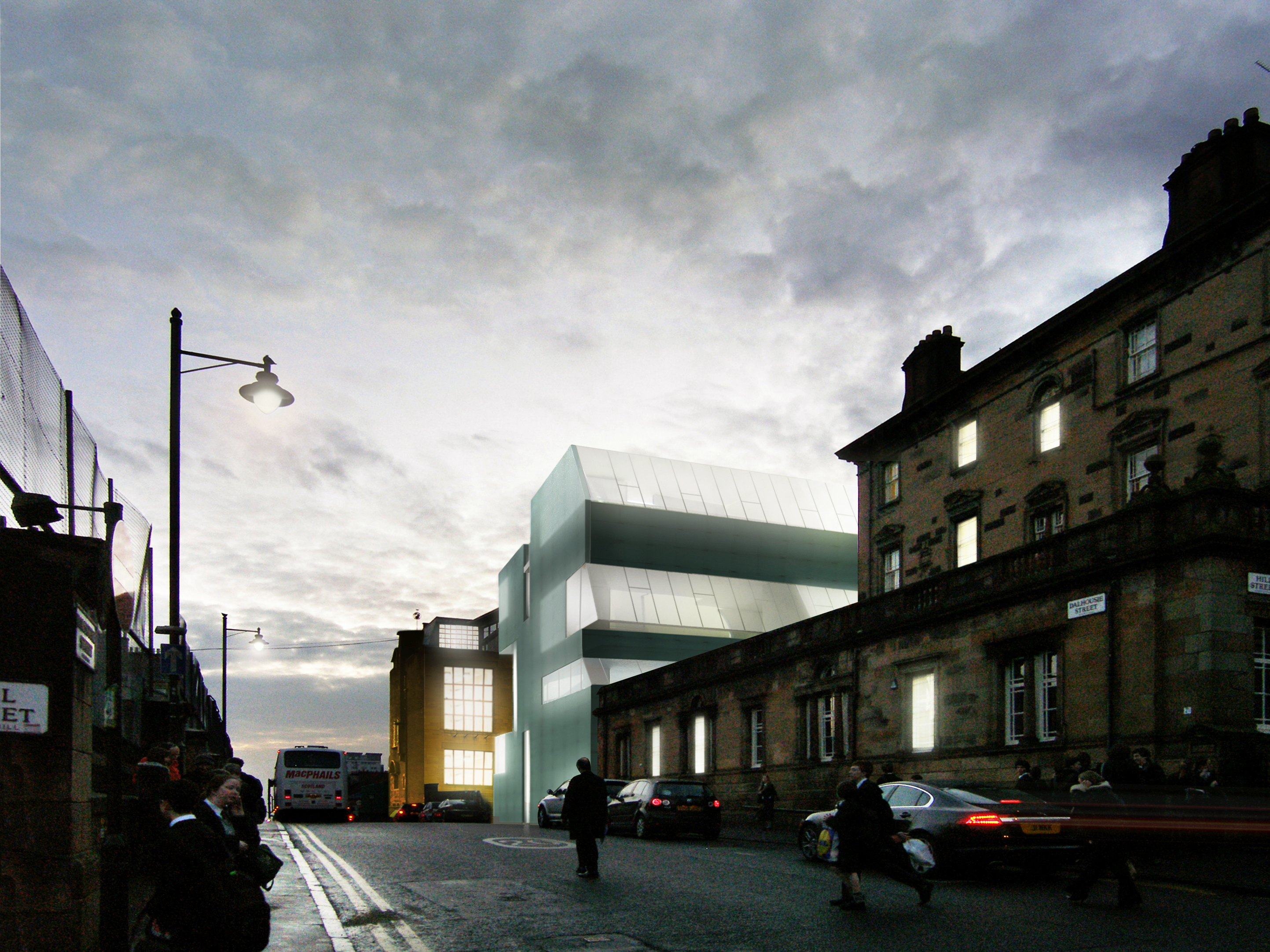 glasgow school of art interior design projects