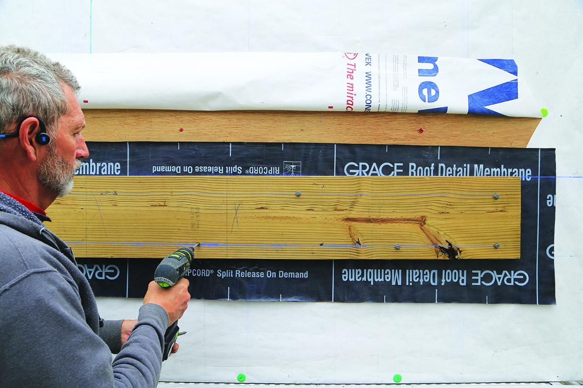 Installing a Deck Ledger   Professional Deck Builder