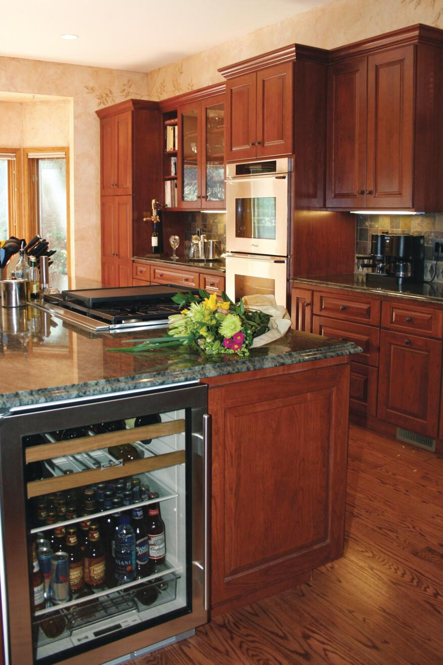 kitchen cabinets small cheers to the beverage station remodeling kitchen 3241