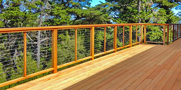Avoiding Common Cable Rail Mistakes With Wood Frames Jlc