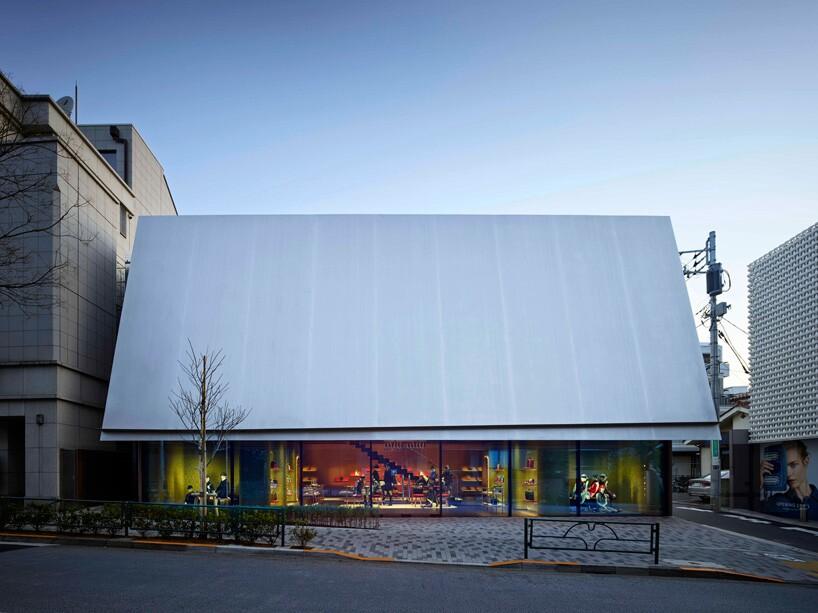 Herzog   de Meuron Unveils Miu Miu Boutique in Aoyama, Tokyo ... 96658aa36b