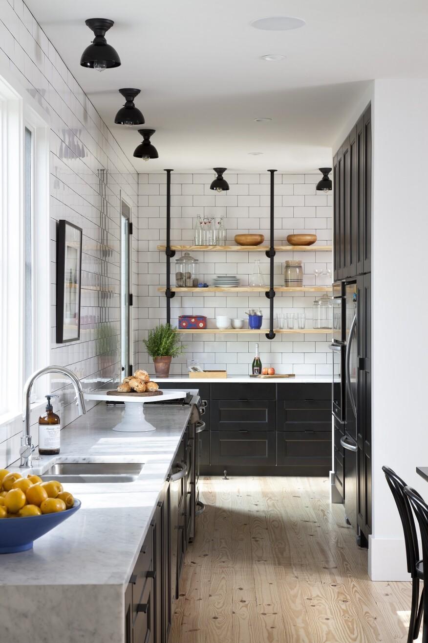 Modern Farmhouse-Style Kitchen