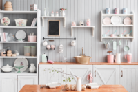Joanna Gaines Provides a Technical Guide to Open Shelving