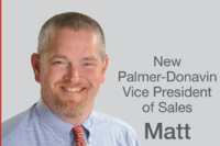 Palmer-Donavin Names Matt Kaufman Vice President of Sales