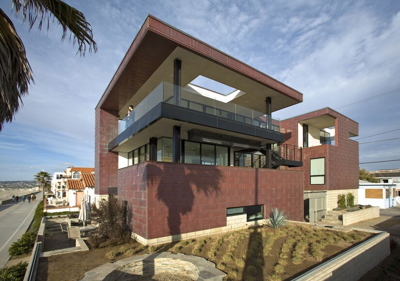 Manhattan Court Residence Architect Magazine Architects Hanna Gabriel Wells San Diego Ca