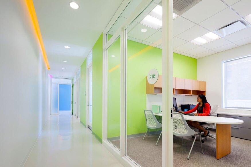 2017 al design awards diane l max health center planned for Al saffar interior decoration l l c
