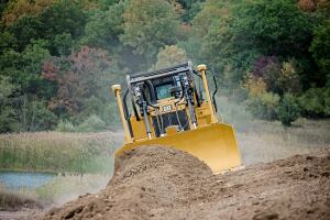 Dozer for Heavy Applications from Caterpillar  Concrete