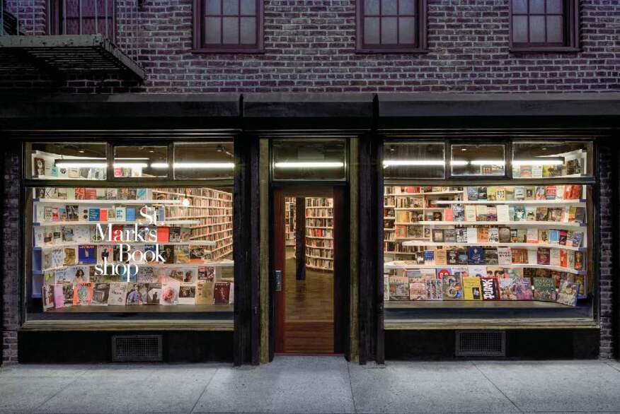 St. Mark's Bookshop, Clouds Architecture Office, New York