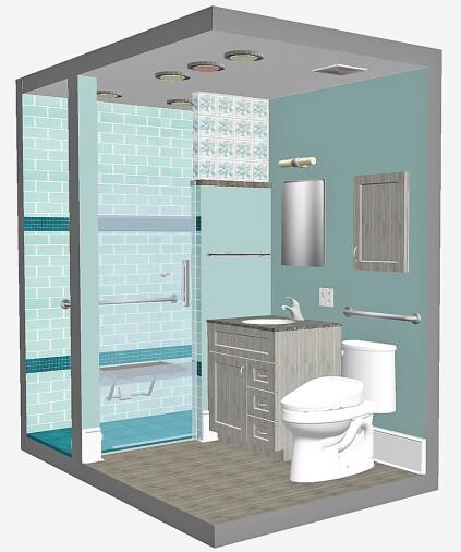 Cost Vs Value Project Bath Remodel Universal Design Remodeling
