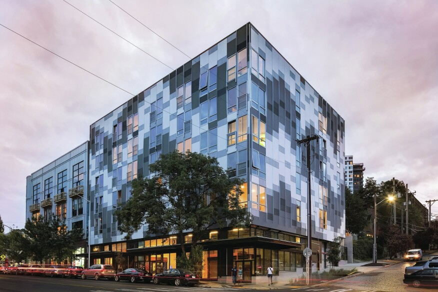 Sustainable Seattle Project Shows Off Green Design Multifamily